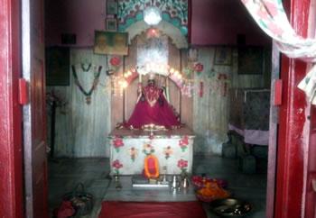 Kali temple in Madhubani