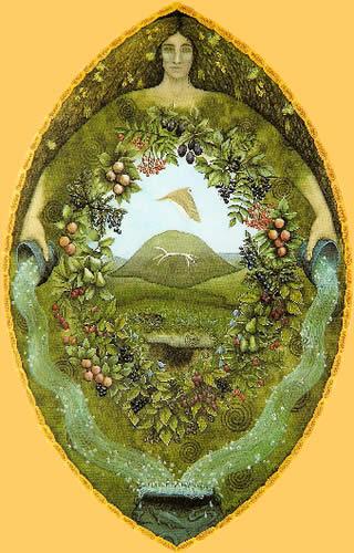 """Earth Goddess"", by Meraylah Allwood"