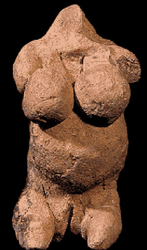 Goddess figurine from Mnajdra, Malta