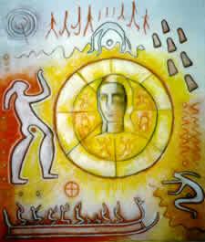 Sun Goddess & Petroglyphs