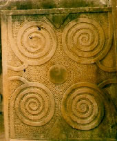 Spiral stone at Tarxien
