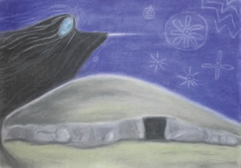 """The Cailleach ' Cairn T, Loughcrew"", by Jill Smith"