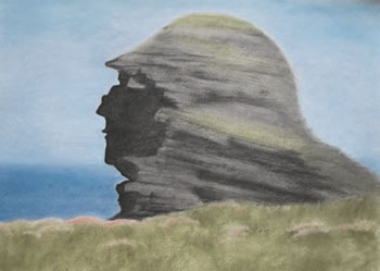 """The Hag's Head, Cliffs of Moher"", by Jill Smith"