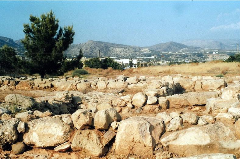 The Minoan villa at Makriyalos