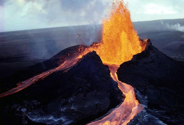 Volcano on Hawaii