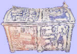 Painted Minoan lamax from Episkopi