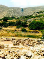 Zakros temple site
