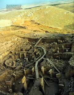 Göbekli Tepe mound & excavation