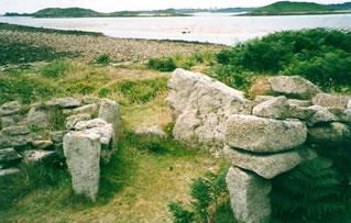 The settlement & shrine on Nor-nour