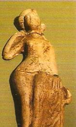 """Venus"" Goddess figurine found on Nor-nour"