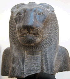 Sekhmet from the temple of Mut at Luxor, 1403-1365 BCE