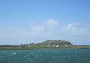View towards Dun-i & Iona Abbey