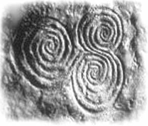 Newgrange Triple Spiral