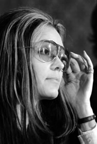 Gloria Steinem in 1972