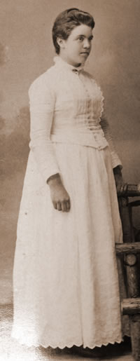Jennie Jarvis - Carolyn's Great-Grandmother