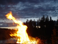 midsummer fire