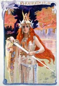 Brynhild, by G Bussiere (1897)