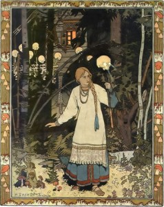 Vasilisa - by Ivan Yakovlevich Bilibin (1876-1942)