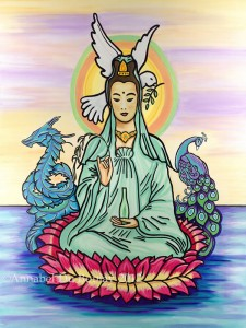 Kuan Yin - by Annabel Du Boulay