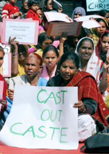 "Protest by ""Untouchable"" (Dalit) Women"