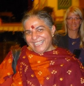 Vandana Shiva - photo by author