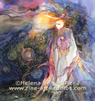 """Brighid Walks the Land"" - by Helena Nelson-Reed"