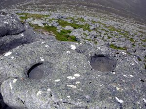 "The Lochnagar ""Eyes"". Photo – Stuart McHardy"