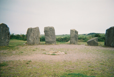 The Stone Circle as it appeared to me in my Imbolc vision