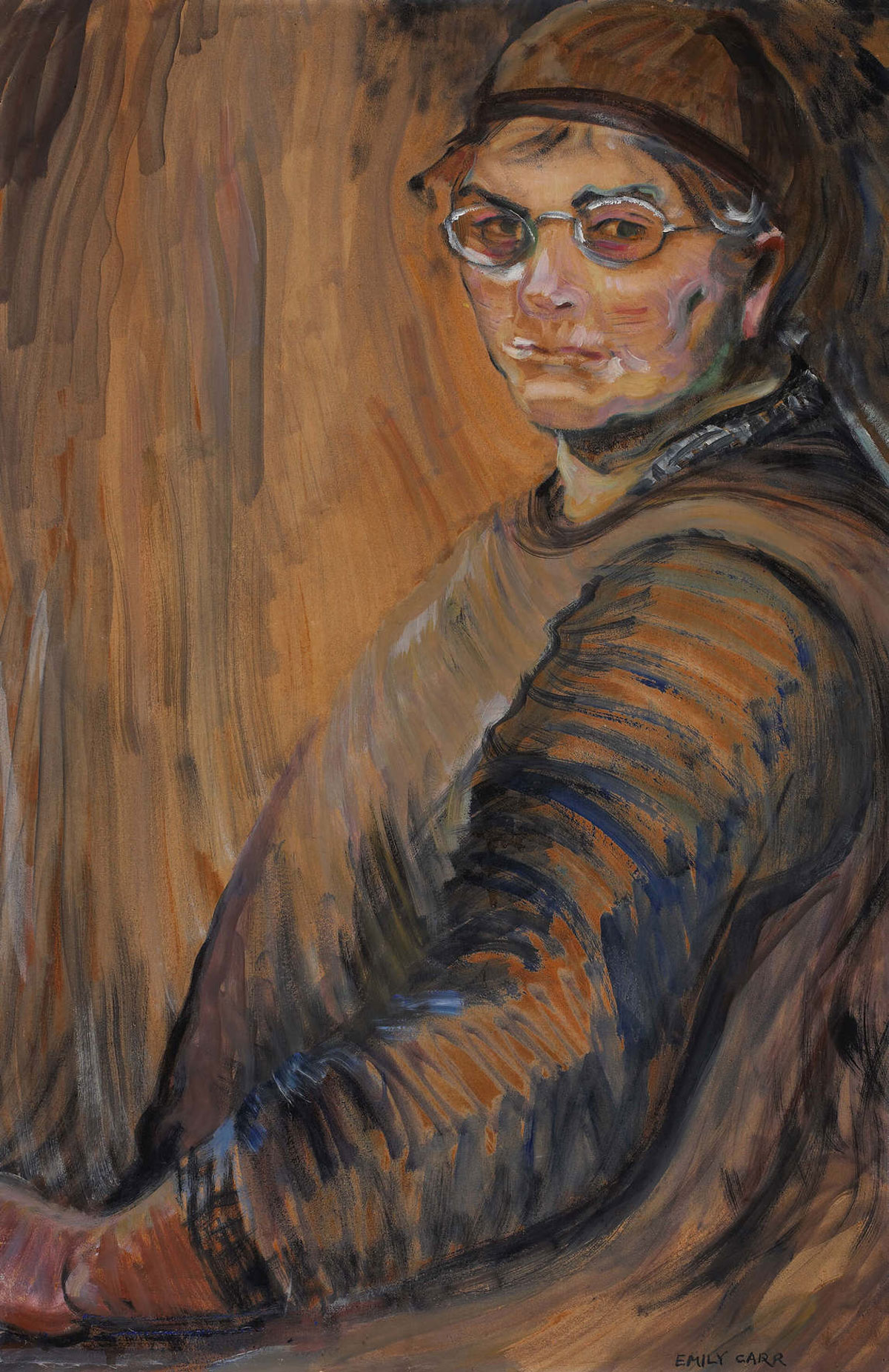self-potrait by Emily Carr, 1938/1939
