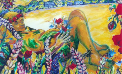 Lammas Goddess by Geraldine Andrew